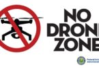 drone no fly zone map