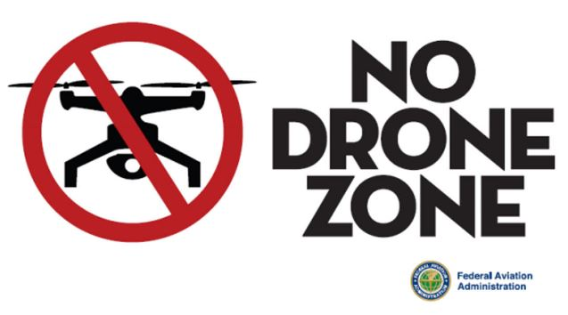 Drone No Fly Zone Airspace Map FAAs Restricted No Drone Zone Areas - Us airspace map drone